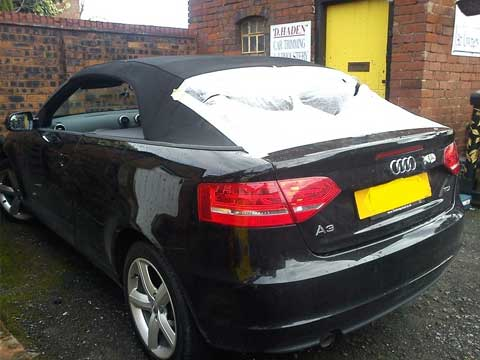 Audi A3 Cabriolet Convertible Roof Fitted