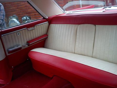 Custom Cadillac Interior Reupholstered