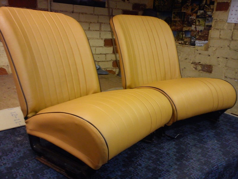 Fiat 127 Seats And Door Cards Recovered D Haden Upholstery
