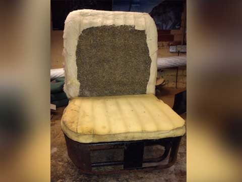 Ford Flatbed Seats Recovered