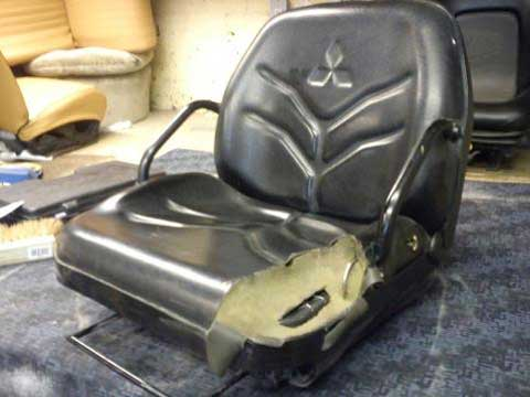 Mitsubishi Wheel Loader Seat Repaired