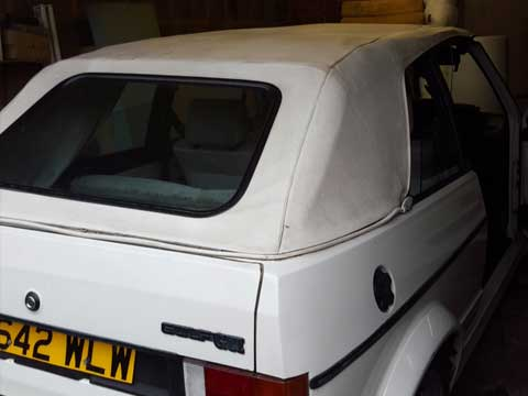 MK1 Golf Hood Fitted
