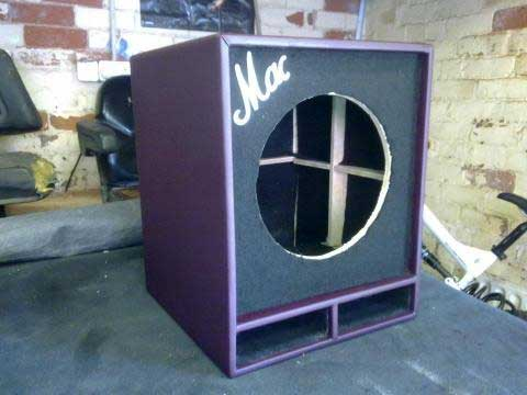 Purple Amplifier Cabinet Cover