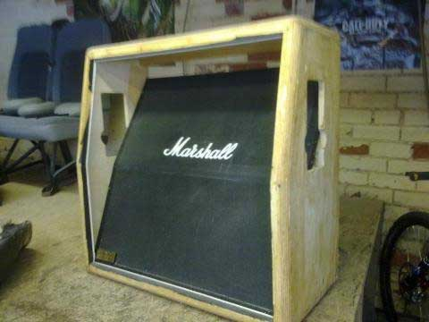 Red Amplifier Cabinet Cover