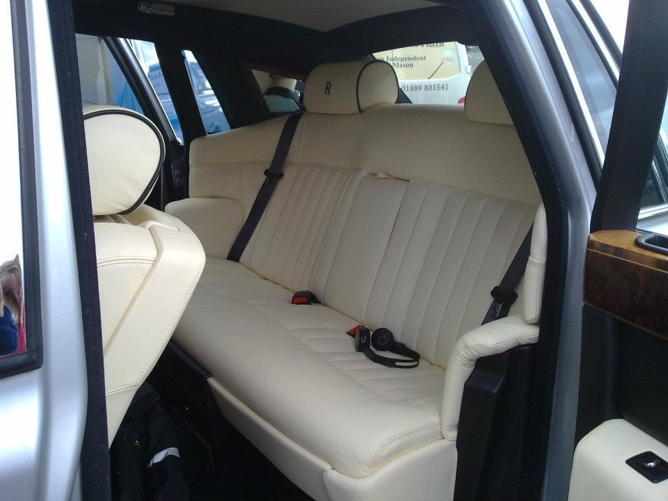 Rolls Royce Interior Retrim D Haden Upholstery