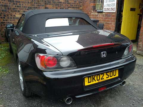 Honda s2000 Cabriolet Convertible Roof Fitted