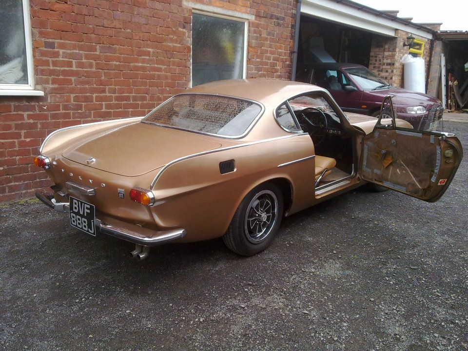 Volvo P1800 Seats Reupholstered D Haden Upholstery