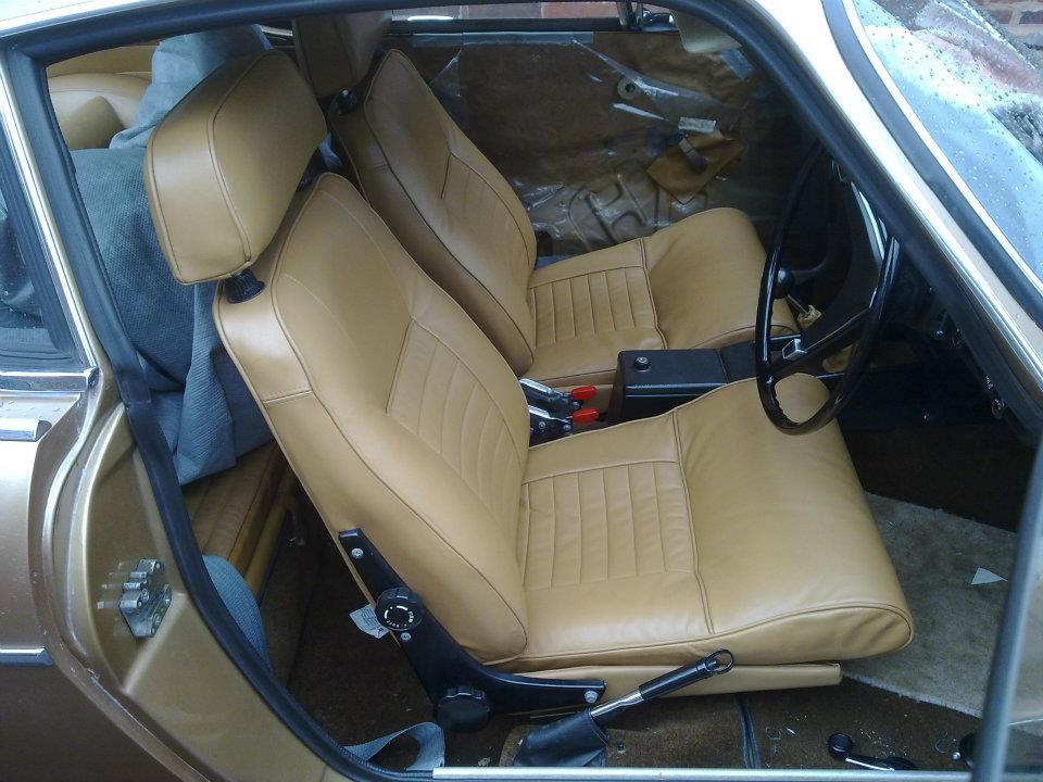 Car Seats Reupholstered